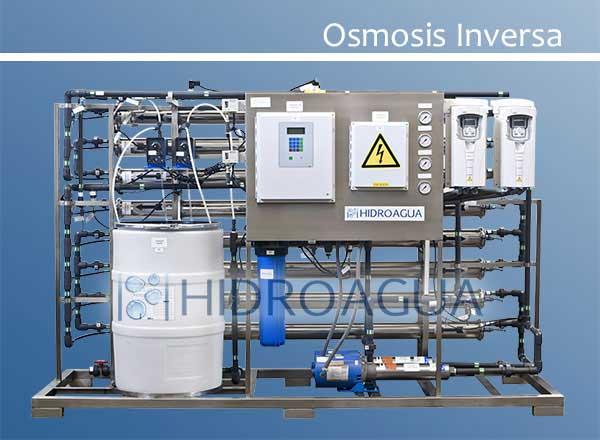 Equipos de osmosis inversa hidroagua for Equipo de osmosis